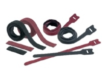Panduit TAK-TY HLTP / HLSP Hook & Loop Cable Ties - Plenum - cable tie