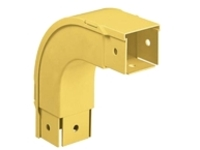 Panduit Fiber-Duct Outside Vertical Right Angle Fitting - cable raceway right angle fitting
