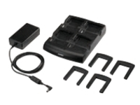 Zebra Four Slot Battery Charger Kit - power adapter and battery charger