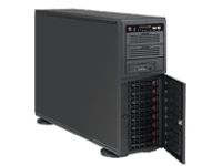 Supermicro SC743 TQ-865B-SQ - tower - 4U - extended ATX