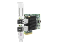 HPE 82E - host bus adapter - PCIe 2.0 x4 / PCIe x8 - 8Gb Fibre Channel SFP+ x 2