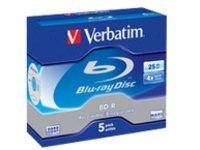 Verbatim - BD-R x 5 - 25 GB - storage media