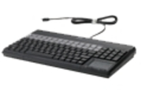 HP POS Keyboard with Magnetic Stripe Reader - keyboard - QWERTY
