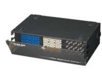 "Black Box Rackmount Fiber Cabinet - rack shelf - 3U - 19""/23"""