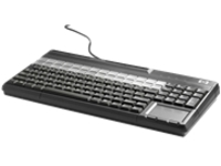 HP POS Keyboard with Magnetic Stripe Reader - keyboard - QWERTY - US