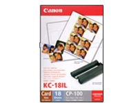 Canon KC-18IL - 1 - 17.3 x 22 mm - print cartridge / paper kit