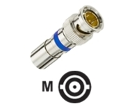 IDEAL BNC RG-6 Compression Connector - antenna connector