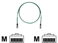 Panduit TX6 10Gig patch cable - 91 cm - green
