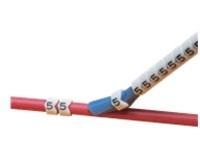 Panduit Pre-Printed Clip-On Wire Markers, Legends 0-9 - wire / cable marker (preprinted)