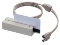 Uniform Industrial MSR210D - magnetic card reader - keyboard