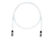Panduit TX6A 10Gig patch cable - 1 m - international gray