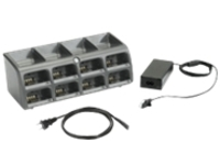 Zebra 8-Slot Battery Charger Kit - power adapter and battery charger