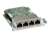 Cisco Gigabit EtherSwitch EHWIC - switch - 4 ports - managed - plug-in module