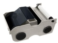Fargo - 1 - standard black - print ribbon cassette with cleaning roller