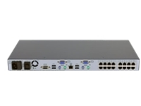HPE Server Console G2 Switch 0x2x16 - KVM switch - 16 ports - rack-mountable