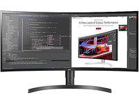 "LG 34BL85C-B - LED monitor - curved - 34"" - 3440 x 1440 Ultra WQHD - IPS - 300 cd/m² - 1000:1 - 5 ms - 2xHDMI, Display…"