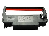 Epson - 1 - black, red - print ribbon