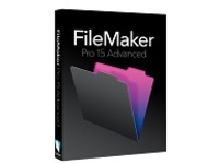 Image of FileMaker Pro Advanced - ( v. 15 ) - box pack - 1 user - GOV, corporate - Win, Mac - Multilingual