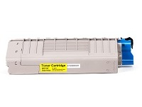 OKI - yellow - original - toner cartridge