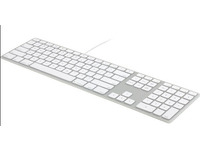 Matias Wired Aluminum Keyboard W Numeric Keypad For Mac