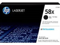 HP 58X - High Capacity - black - original - LaserJet - toner cartridge (CF258X)