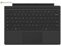 Microsoft Surface Pro Type Cover (M1725) - keyboard - with trackpad, accelerometer - English - North America - black